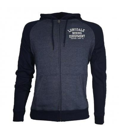 FELPA FULL ZIP NAVY LONSDALE