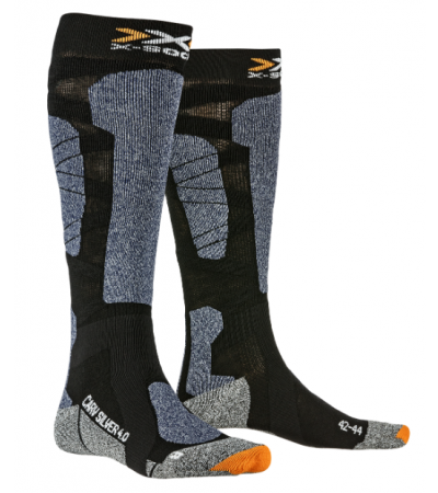 X-SOCKS® CARVE SILVER 4.0